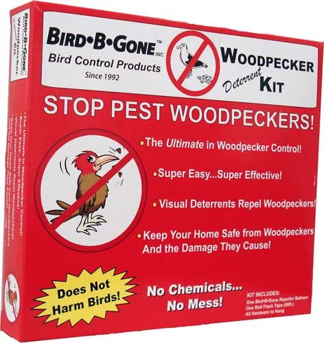 Woodpecker Deterrent Kit Bird Repellent